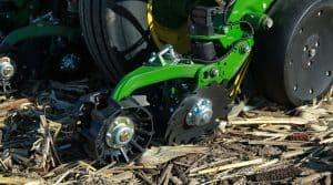 modulation du semis de maïs, Precision Planting FurrowForce