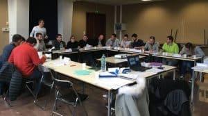 Les responsables des cuma d'Aveyron participent à des formations régulièrement proposées par la fédération départementale des cuma.