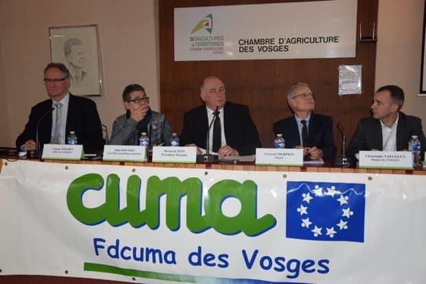 recyclage des déchets : au menu de l'AG des Vosges