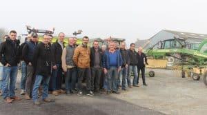 cuma la Croix de l'Iff, groupe de cumistes du Morbihan en réunion locale