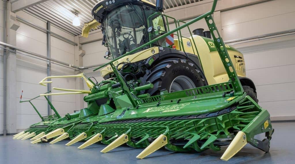 Krone XCollect : nouvelle tête de récolte pour Big X