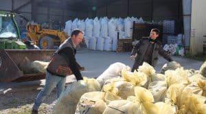 recyclage des déchets à la ferme