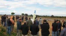 Les plantiers de vignes peuvent être endommagés par les outils interceps, d'où l'importance des réglages.