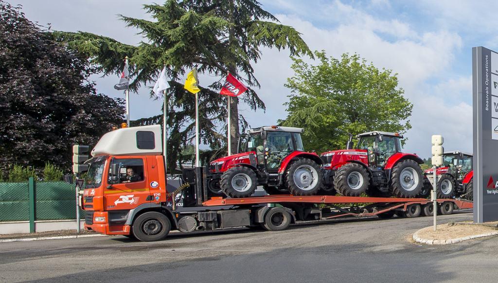 Marché français de l'agroéquipement : tracteurs massey ferguson AGCO