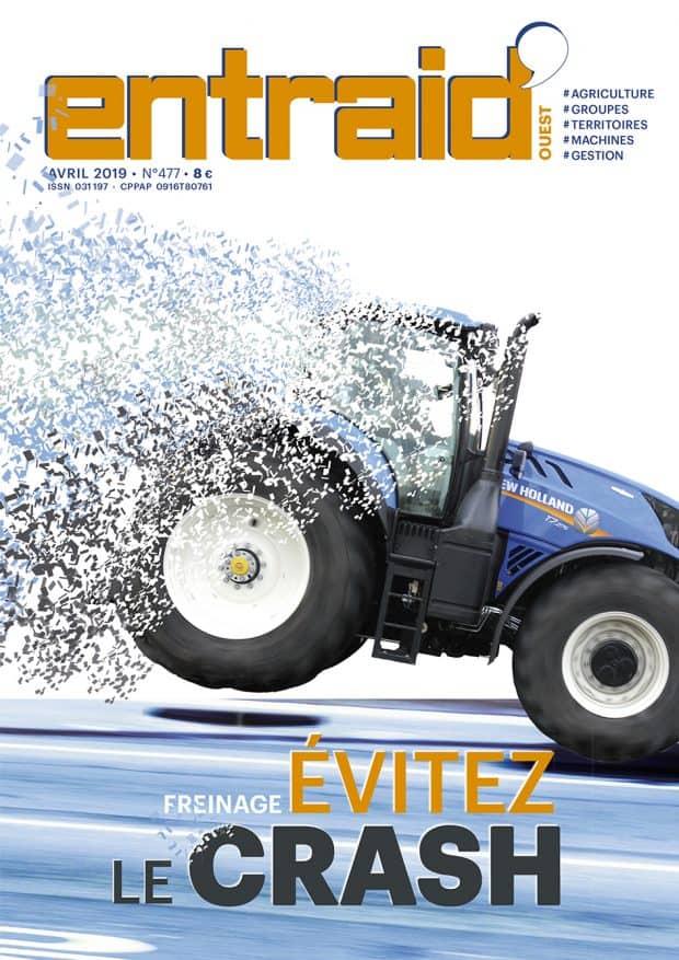 Distance de freinage tracteur