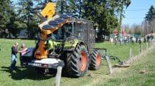 débroussaillage rapide en prestation complète, cuma Céréales et Récolte