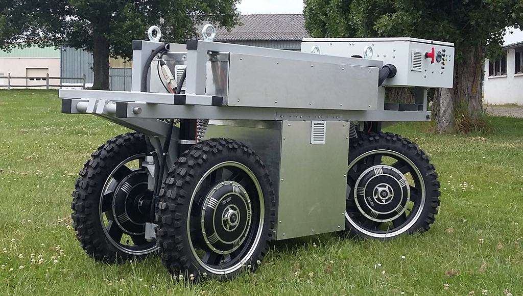 Robots agricoles : robot Irstea ADAP2E