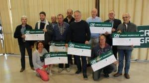 Les lauréats du Challenge cuma, appartenant à 6 cuma innovantes.