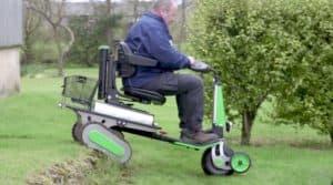 fauteuil roulant électrique à chenilles Scootpartoo