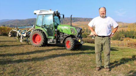 avis sur le tracteur Fendt 210V Vario, cuma alsacienne