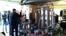Filtre tangentiel : La Frcuma et la chambre d'agriculture d'Indre et Loire avec l'appui de Philippe Marcotte, responsable chez Bucher, ont organisé une formation pour une douzaine d'adhérents de la cuma St Vincent sur l'usage du filtre tangentiel.