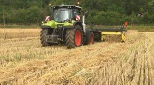 moisson 2019 récolte coupe tracteur