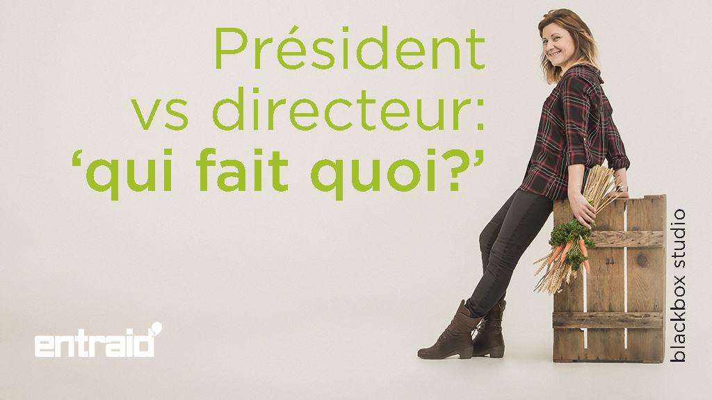 president vs directeur