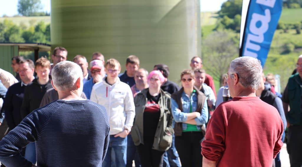 coût alimentaire : témoignage des éleveurs qui accueillaient la journée technique en Seine-Maritime.