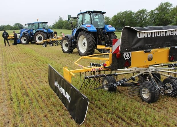 Salon de l'herbe 2019 gamme fenaison New Holland