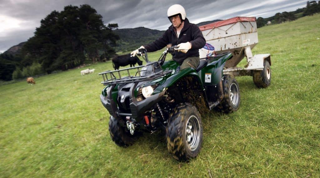 quad : conduite et reglementation