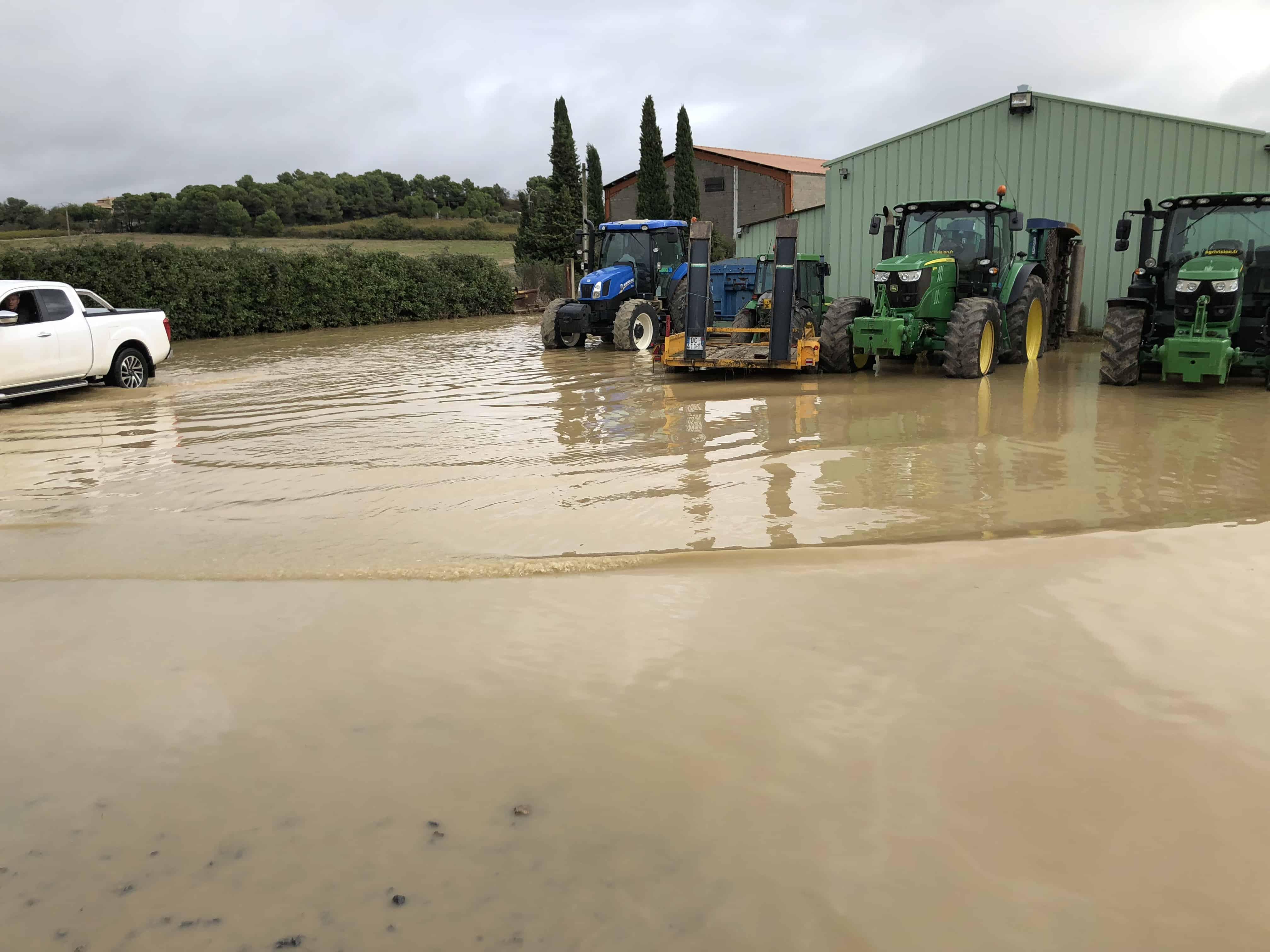 La cuma de Villalier a pu passer ce cap difficile des inondations.