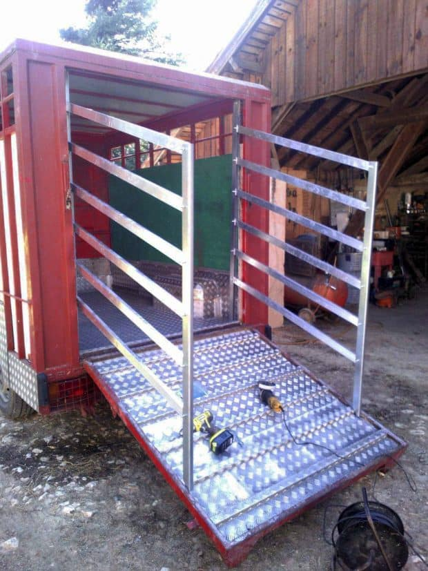 barriere pont pour betaillere astuce agricole invention