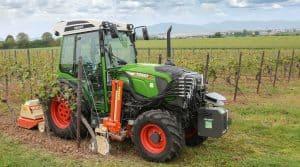 tracteurs Fendt 200 Vario et outils Braun