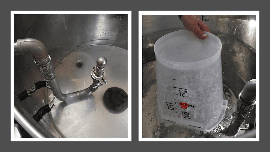 Innov'Space 2019 : lavage des seaux à veaux et du système de distribution du lait