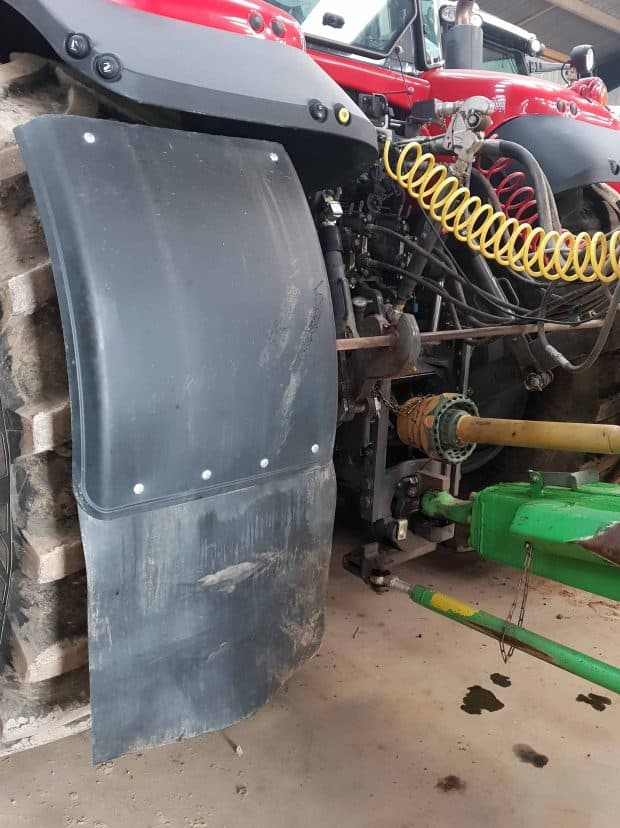 astuce invention agricole extension garde boue