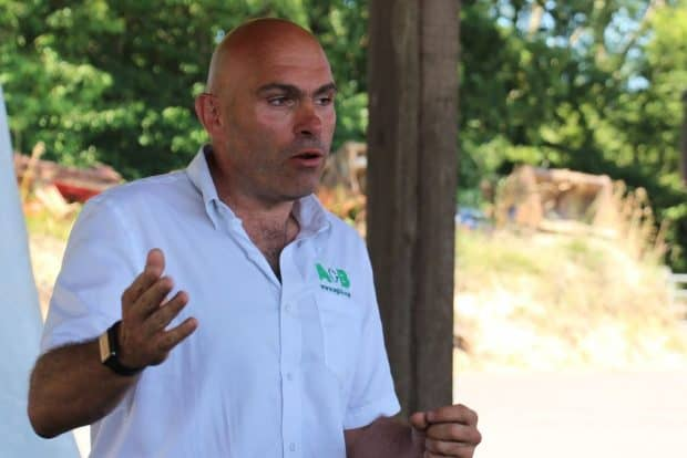 L'entreprise d'Arnaud Besnier a accueilli la Premos pour ses premiers chantiers en France