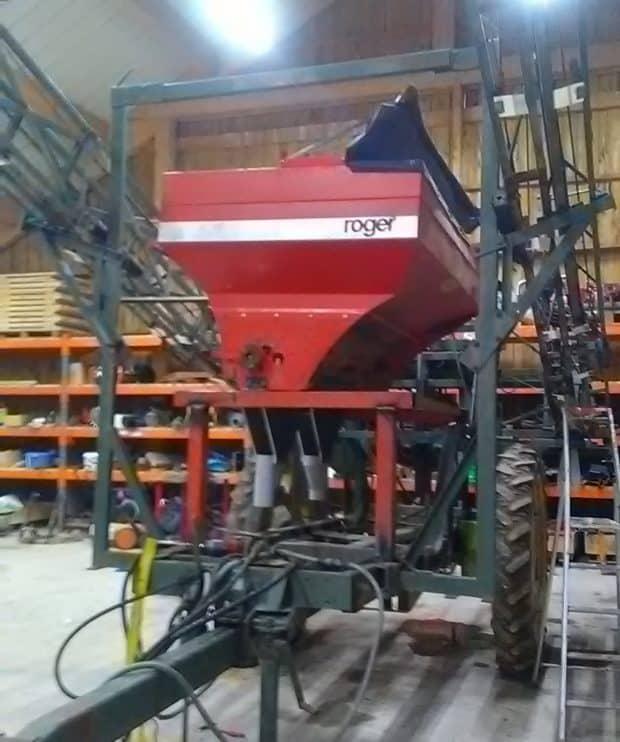 chassis pulverisateur semoir volee transport canalisation astuce bticolage