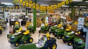 commandes de matériels agricoles : concession John Deere