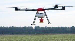 drone géant pour semer des couverts végétaux, Ovalie Innovation
