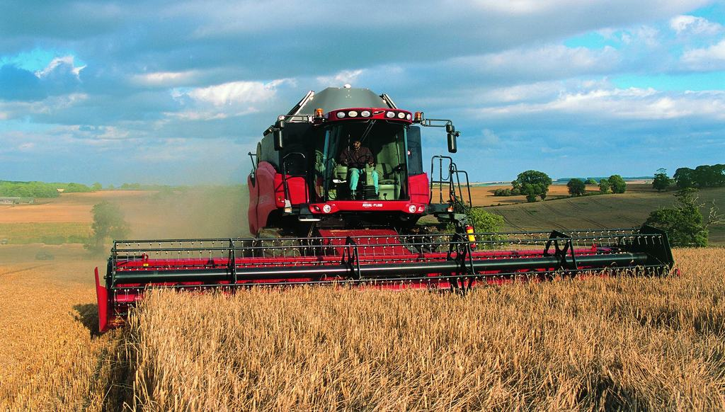 moissonneuse case ih axial flow