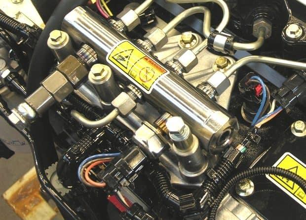moteur diesel injection