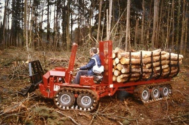tracteur Mouflon