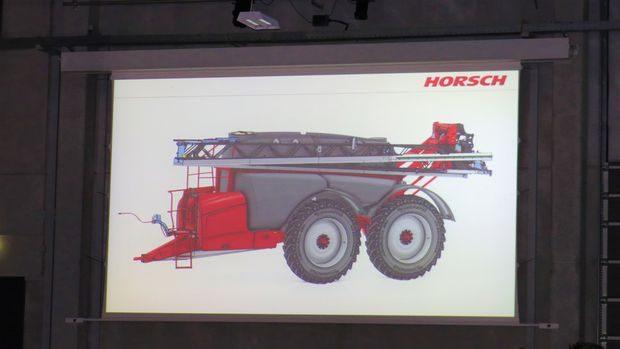 automoteur Horsch pulvé 12000 litres