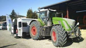 ain energie tracteur banc essai moteur economie carburant