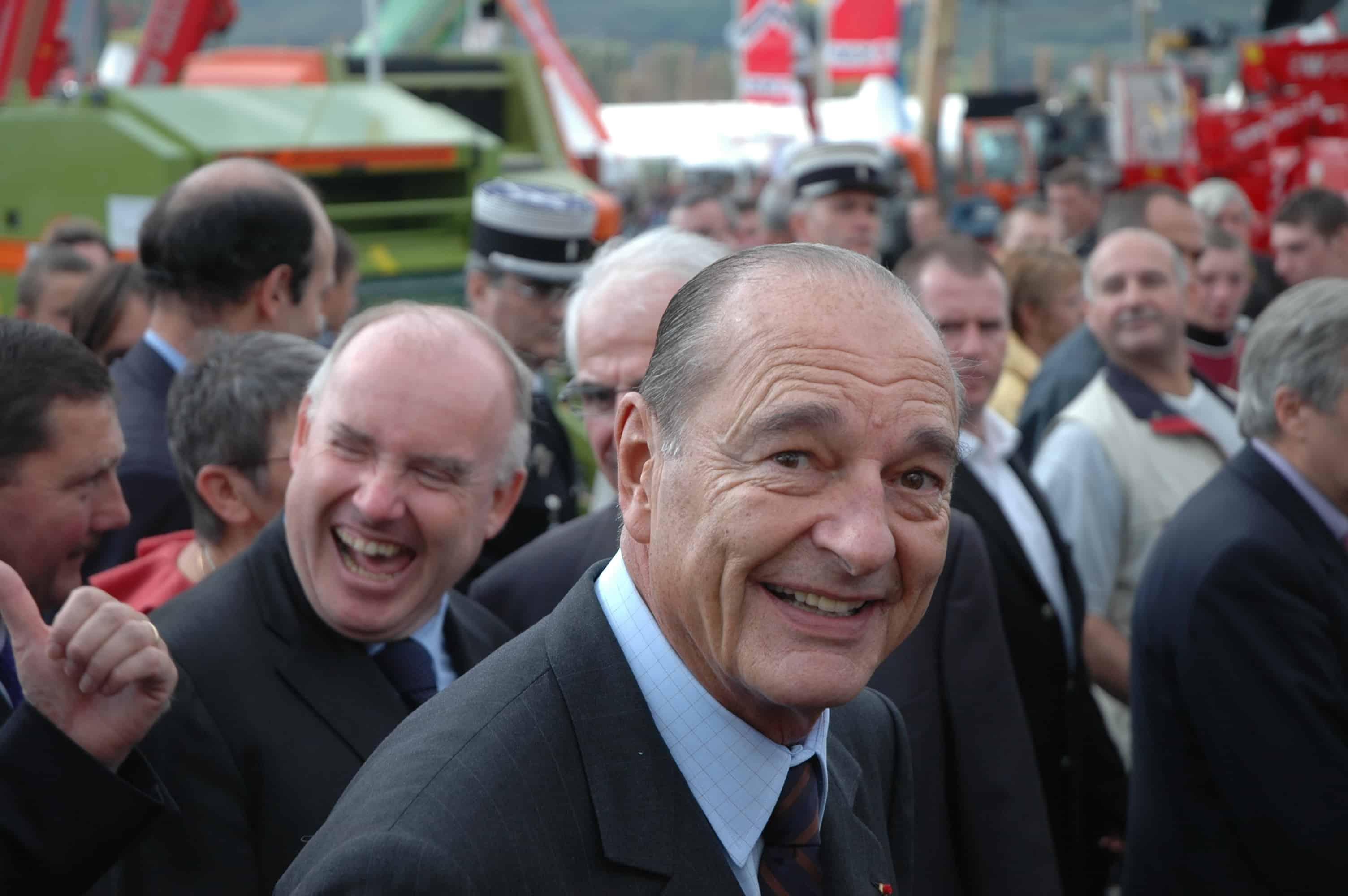 jacques chirac deces relation agriculture affection histoire d amour salon elevage 2006