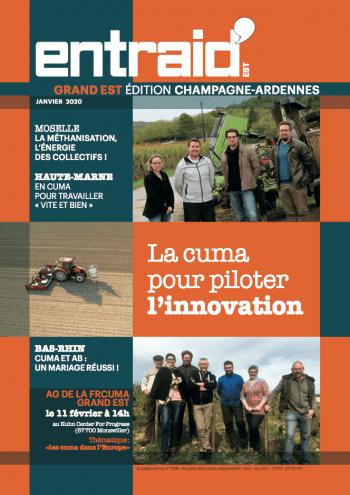 Couverture du numéro Édition Champagne-Ardenne