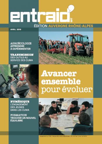 Couverture du numéro Édition Auvergne-Rhônes-Alpes