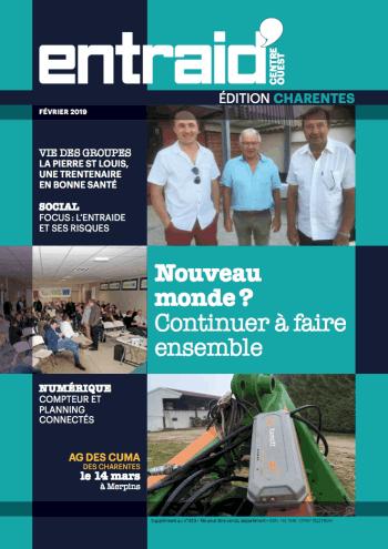 Couverture du numéro Édition Charentes