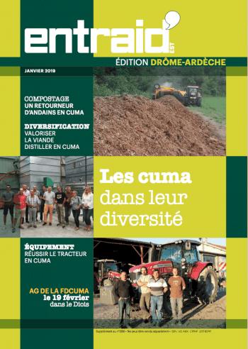 Couverture du numéro Édition Drôme