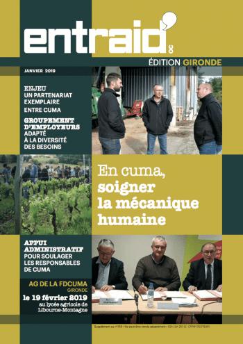 Couverture du numéro Édition Gironde
