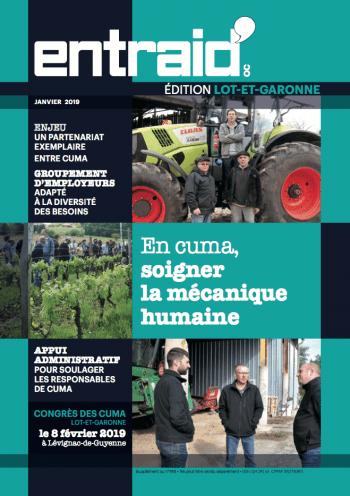 Couverture du numéro Édition Lot-et-Garonne