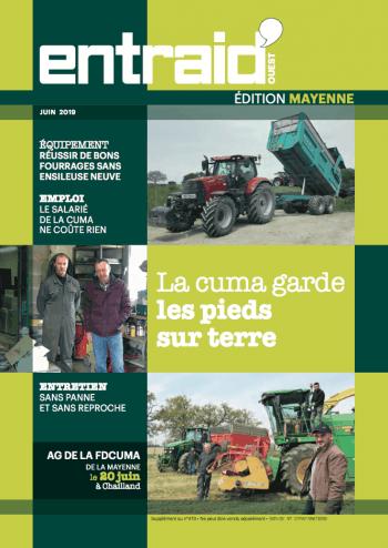 Couverture du numéro Édition Mayenne