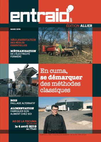Couverture du numéro Édition Allier