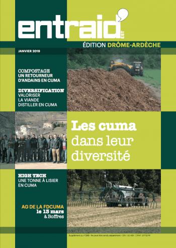Couverture du numéro Édition Ardèche