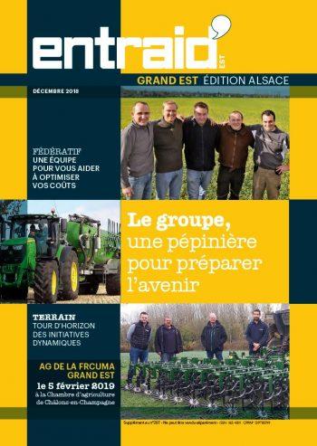 Couverture du numéro Édition Alsace