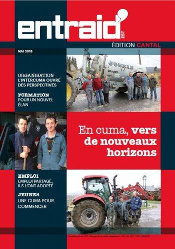 Couverture du numéro Édition Cantal