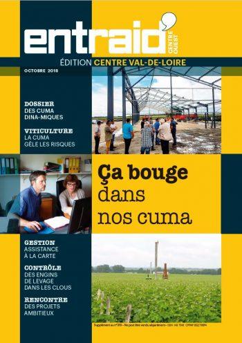 Couverture du numéro Édition Centre-Val de Loire