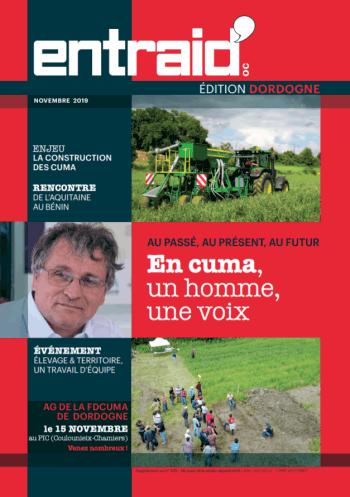 Couverture du numéro Édition Dordogne