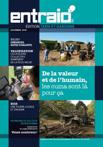 Couverture du numéro Édition Tarn-et-Garonne