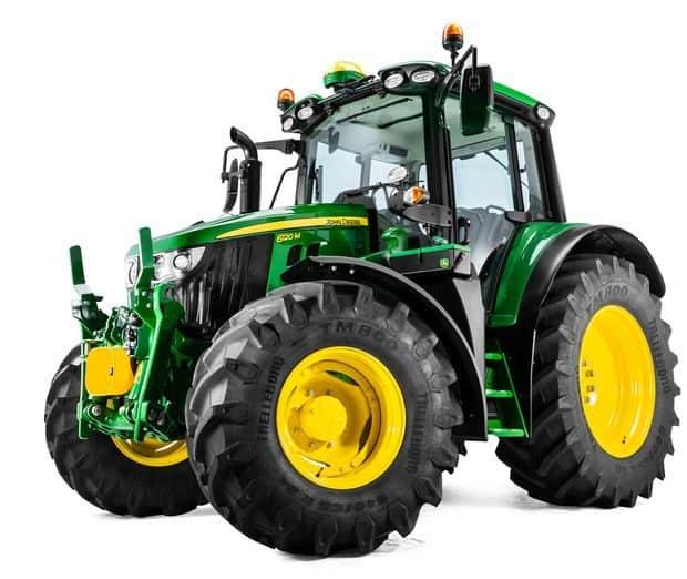 John Deere tracteurs 6M empattement court
